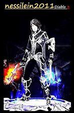 Diablo3 Ps4 - Dämonenjäger - Des Schattens Mantelung - Primal/Archaisch UNMODDED