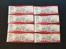 Lot Of 8 R.E.M. Full Tickets Las Vegas Show Thomas & Mack Center May 6 1995 EUC