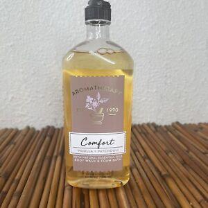 Bath & Body Works Aromatherapy Comfort Vanilla Patchouli Body Wash & Foam 10oz
