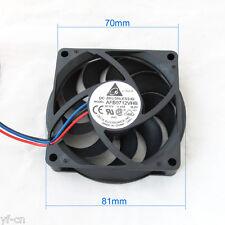 1pc Delta CPU Heatsink Modual DC Fan AFB0712VHB 70x70x15mm 7015 12V 0.55A 3pin