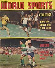 Mundo de los Deportes 1962 de septiembre de 1961 comerciantes posibilidades en Copa del Mundo en Chile Escocia
