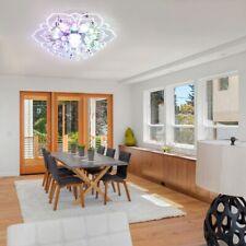 LED Kristall Deckenleuchte Kronleuchter Wohnzimmer Flurleuchte Lampe Beleuchtung