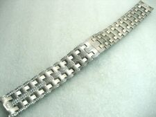 Steel & Crystals 7.75 Inches Wrist Bulova 96C108 Bracelet Men'S Watch Stainless