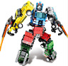Sembo 103225-103228 Bausteine Gundam Transformers Roboter 4in1 Figur Spielzeug