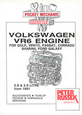 VW VR6 Engines 2.8 2.9 Golf Vento Corrado Galaxy Sharan Passat Workshop Manual