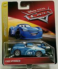 CARS 3 - CAM SPINNER racer TRIPLE DENT TEAM - Mattel Disney Pixar