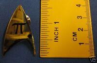 Star Trek Original Series Star Base Insignia Black Pin Badge STPIN46
