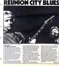 6/2/88pg34 Live Review & Picture, Eric Clapton - Kensington Royal Albert Hall