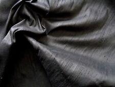 NEU, Kunstseide, Kleiderstoff, Meterware, Deko, schwarz
