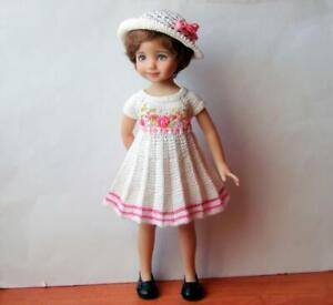 """dress and hat for the doll Dianna EFFNER LITTLE DARLING 13"""""""
