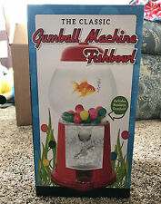 "NEW Beta Fish Bubble Gum Retro Old Classic Red 11"" Gumball Machine Tank GIFT"