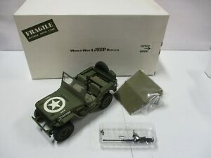 Danbury Mint WWII Jeep Replica