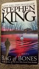 Bag of Bones by Stephen King First Pocket Books Printing (1999, Paperback)