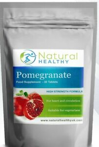 60 Pomegranate Tablets - For heart and circulation - vegetarian tablets