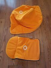 Bugaboo Cameleon Tailored Fabric Set Orange Fleece Canopy + Bassinet Apron