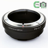FD-L/T Canon FD Mount Lens to Leica T LT Adapter T Type 701 Mirrorless Camera