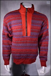 SPYDER INSULATED WOOL WINDSTOPPER SWEATER JACKET MENS M