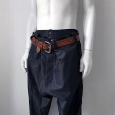 Regular Size Pinstripe 28L Trousers for Men