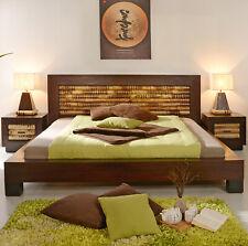 Bambusbett 160x200 Dream Holzbett Doppelbett Designerbett Bambusbett Bett Massiv