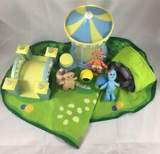 Soft N Cosy World Playset In the Night Garden Mat Bridge Carousel Plush Doll Lot