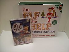 The Elf on the Shelf A Christmas Tradition (Blue-Eyed Girl) with DVD - NEW