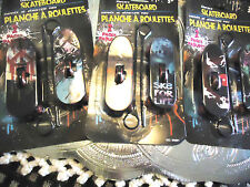"3 PACK (6 TOTAL) RIP SKATEBOARDS.. 4"" LONG..COOL GRAPHICS...ALL DIFFERENT"