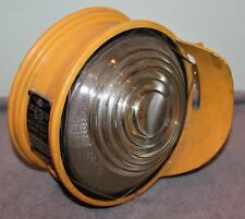 RARE VINTAGE AIRPORT RUNWAY HIGH INTENSITY LIGHT LINE MATERIAL CO. CIRCA 1940'S