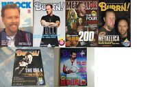 METALLICA on COVER LOT of 6 Japan Rock Magazines RARE