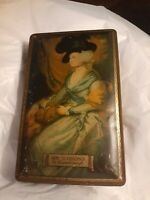 Antique MacFarlane Lang & Co. Biscuits & Cakes Mrs. Siddons Gainsbourgh Tin Box