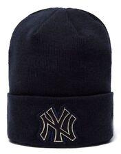 New Era MLB New York Yankees Beanie - New w/Tags - Genuine Top Quality Brand