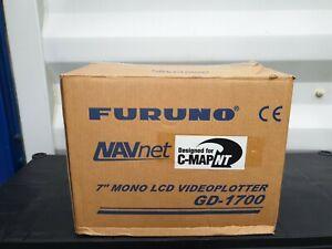 "New in Box Furuno GD-1700 NavNet 7"" GPS Chartplotter Display, (C-Map NT Version)"