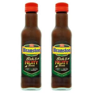 Branston Rich & Fruity Sauce 245g (Pack of 2)