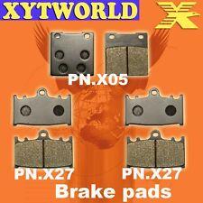 FRONT REAR Brake Pads for Suzuki GSXR 750 2000-2003