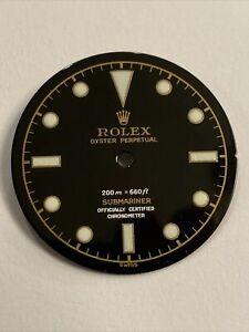 Rolex Submariner Dial 200m = 660ft