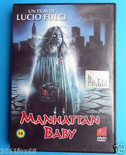 rare horror dvd manhattan baby lucio fulci movie martha taylor brigitta boccoli