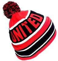 United Bobble Hat Football Gifts Thicker warmer Than The Average Hats