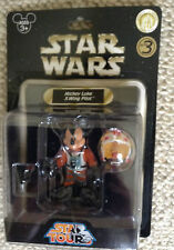 RARE STAR TOURS MICKEY LUKE X WING FIGHTER SERIES 3 Disney Parks - MINT ON CARD