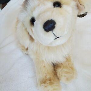 "FAO SCHWARZ 20"" Golden Retriever Puppy Dog Toy Plush Stuffed Animal"