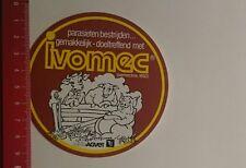 ADESIVI/Sticker: ivomec parasieten bestrijden (06121614)