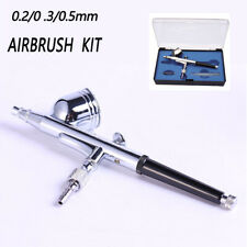 Mini Action Air Brush Airbrush 0.5mm Kit Spray Gun Compressor Paint Art Nail Art