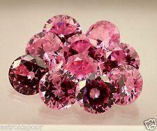 33.35 CT PINK Cubic Zircon 10pcs. Wonderful Quality Round Shaped Loose Gemstone