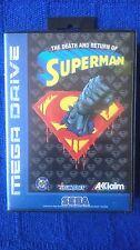 The death and return of Superman Sega Mega Drive Megadrive