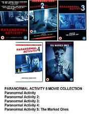PARANORMAL ACTIVITY PENTHOLOGY DVD SET Part 1 2 3 4 5 All Movie Film New UK Box