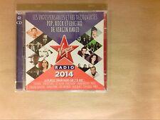 BOITIER 2 CD / LES INDISPENSABLES ET DECOUVERTES VIRGIN RADIO 2014 / NEUF CELLO