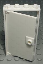 2611 Lego Tür 1x4x6 Beige mit Transparenter Scheibe