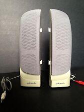 Vintage Pair POLK AUDIO Computer Speakers - Self Powered