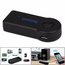 Wireless Bluetooth 3.5mm AUX Audio Stereo Musik Auto Empfänger Adapter Mic