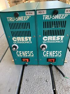True Sweep Crest Ultrasonics 6G-500-6 One Used , And One New. Two Available