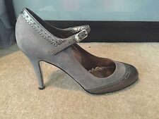 NEW Juicy Couture Leather High Heels, Size 38