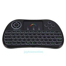 i86 7 Colors Wireless Mini Keyboard Backlight Multimedia For PC Android TV Box
